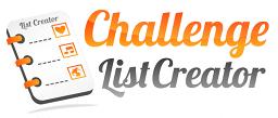 bucket list creator
